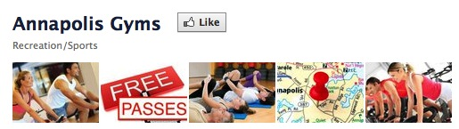 'Like us' on Facebook to receive immediate access to free workout passes from 6 local health clubs.